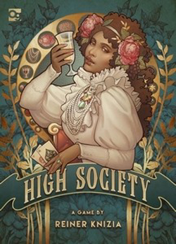 Osprey Games HIGH SOCIETY, LIST PRICE $20