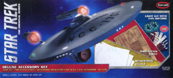 Polar Lights Kits STAR TREK Delux Accessory Set 1/350, LIST PRICE $247.99