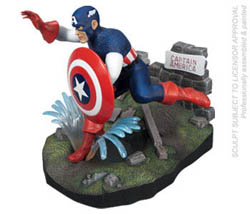 Polar Lights Kits CAPTAIN AMERICA , LIST PRICE $29.9