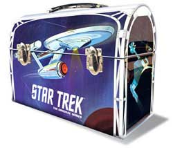 Polar Lights Kits Tos Enterprise Lunchbox Tin, LIST PRICE $52