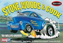 Polar Lights Kits '40 Willys Coupe Snap 1:32, LIST PRICE $22.5