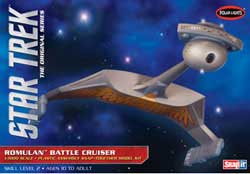 Polar Lights Kits Star Trek Romulan Battle Crusr, LIST PRICE $32.5