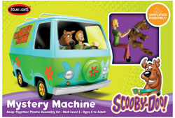 Polar Lights Kits Scooby-Doo Mystery Machine Snp, LIST PRICE $25.29