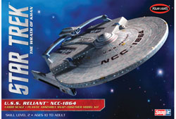 Polar Lights Kits STAR TREK USS RELIANT 1:1000, LIST PRICE $35