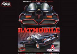 Polar Lights Kits Batmobile 2Pak Snap+Glue 1:25, LIST PRICE $50