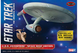 Polar Lights Kits Star Trek Uss Enterprise Snap, LIST PRICE $29.79