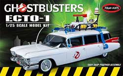 Polar Lights Kits Ghost Busters Ecto-1   1:25, LIST PRICE $28.75