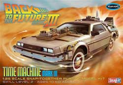 Polar Lights Kits BACK TO THE FUTURE III 1:25, LIST PRICE $40