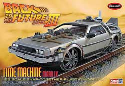 Polar Lights Kits BACK to The FUTURE III Snap:25, LIST PRICE $41.29