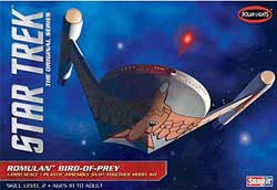 Polar Lights Kits STAR TREK ROMULAN Snap 1:1000, LIST PRICE $29.98