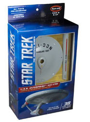 Polar Lights Kits SNAP Star Trek TOS  Entperise Display ModelStar, LIST PRICE $34.75