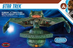Polar Lights Kits 1/350 Star Trek Klingon K't'inga, DUE 9/30/2018, LIST PRICE $99.99