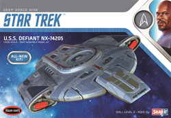 Polar Lights Kits Star Trek U.S.S Defiant 1:1000, LIST PRICE $31.25