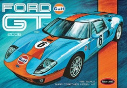 Polar Lights Kits '06 Ford Gt Snap 1:25, LIST PRICE $30