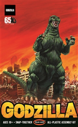 Polar Lights Kits 1:25 Godzilla (Snap), DUE 11/30/2019, LIST PRICE $29.99