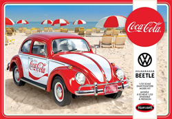 Polar Lights Kits VW Beetle Snap(Coca-Cola), LIST PRICE $33.75