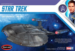Polar Lights Kits Star Trek NX-01 Enterprise sna, LIST PRICE $32.5