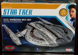 Polar Lights Kits 1:2500 STARTREK USS SHENZ, DUE 6/30/2019, LIST PRICE $40