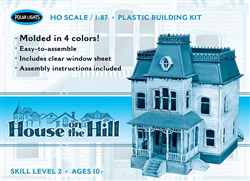 Polar Lights Kits House on the Hill, LIST PRICE $27.5