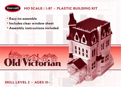 Polar Lights Kits Old Victorian, LIST PRICE $27.5
