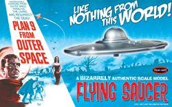 Polar Lights Kits 1/48 Plan 9 From Outer Space Flying Saucer, DUE 5/31/2019, LIST PRICE $30