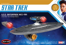 Polar Lights Kits 1:2500 STAR TREK USS DISCOVERY, DUE 8/30/2019, LIST PRICE $40