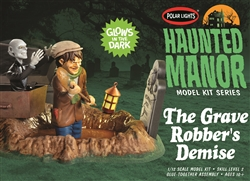 Polar Lights Kits Haunted Manor The Grave Robber's Demise 1:12, LIST PRICE $24.99