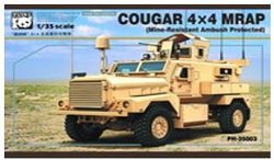 Panda Models COUGAR 4x4 MRAO 1:35, LIST PRICE $59.99