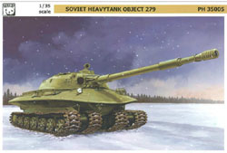 Panda Models Heavy Tank Object 279 1:35, LIST PRICE $69.99