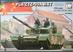 Panda Models ZTZ99A PLA MBT 1:35, LIST PRICE $65.99