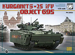 Panda Models BMP OBJECT 695 KURGANET 25, LIST PRICE $50.99
