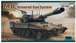 Panda Models M8 Armored Gun System 1:35, LIST PRICE $62.99