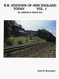 Railroad Avenue Rail Road Stations of New England V1, LIST PRICE $4