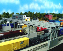 Rix HO Early 50' Hwy Overpass w/Pier , LIST PRICE $15.95