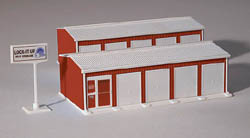 Rail Town HO 2Unt Self Storage Faclty, LIST PRICE $15.99