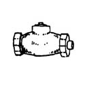 Scale Structures HO Check valve            3/, LIST PRICE $8.99