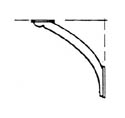 Scale Structures HO Eave bracket lg       10/, LIST PRICE $8.99