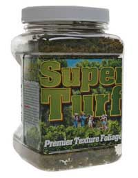 Scenic Express A Flock & Turf Superturf Ground Cover -- Moss 32oz 1L Shaker, LIST PRICE $8.98