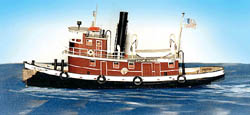 Sea Port Steam Tug Exeter 78' Kit, LIST PRICE $98.95
