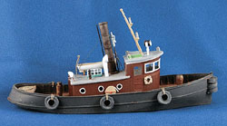 Sea Port HO 53' Harbor Steam Tugboat - Kit, LIST PRICE $69.95