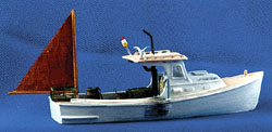 Sea Port HO 34' Working Lobster Boat - Kit, LIST PRICE $49.95