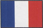 Stewart Products HO Flag w/Pole France 3/, LIST PRICE $8.9