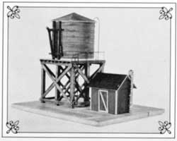 Suncoast HO Branch Line Water Tower, LIST PRICE $51.98