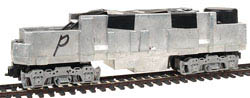 Bowser F-b Chassis Powered Silver Side Frames w/Sound, LIST PRICE $199.95