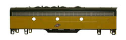 Bowser Pwr F7 B PHI DH C&NW FREIGHT  5619, LIST PRICE $105