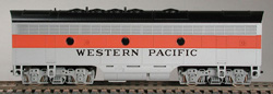 Bowser Pwr F7 B PHI SH WP FREIGHT '55-'65  5621, LIST PRICE $105
