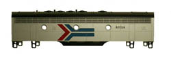 Bowser Pwr F7 B Ph I Early Amtrak  9091, LIST PRICE $105