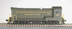Bowser SO Baldwin DS4-4-1000 IRONTON #751, LIST PRICE $115
