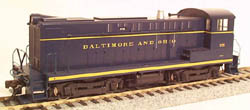 Bowser Baldwin S-12 B&O #376 (AS DELIVERED), LIST PRICE $115