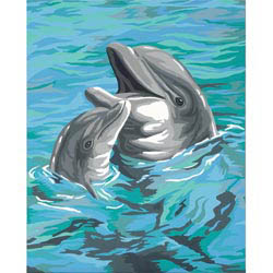 Paint Works DOLPHIN DUO                   , LIST PRICE $6.99